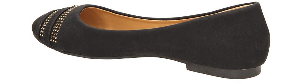 BALERINY CASU W-16 kolor czarny