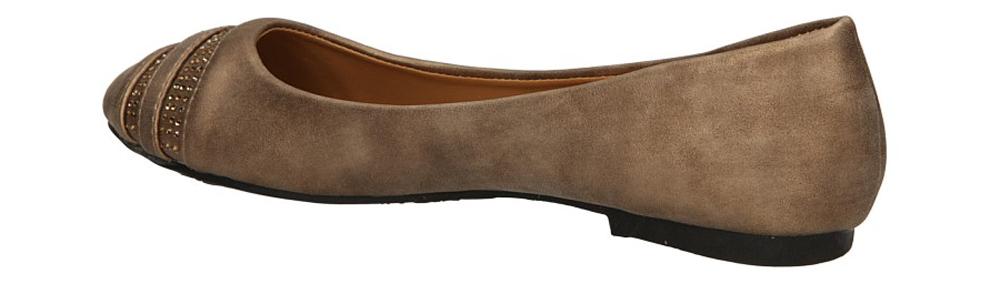 BALERINY CASU W-16 kolor khaki