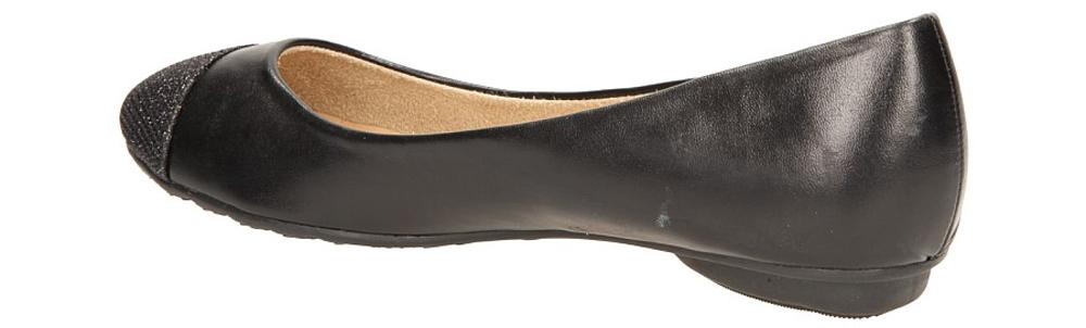 BALERINY CASU 08685 kolor czarny