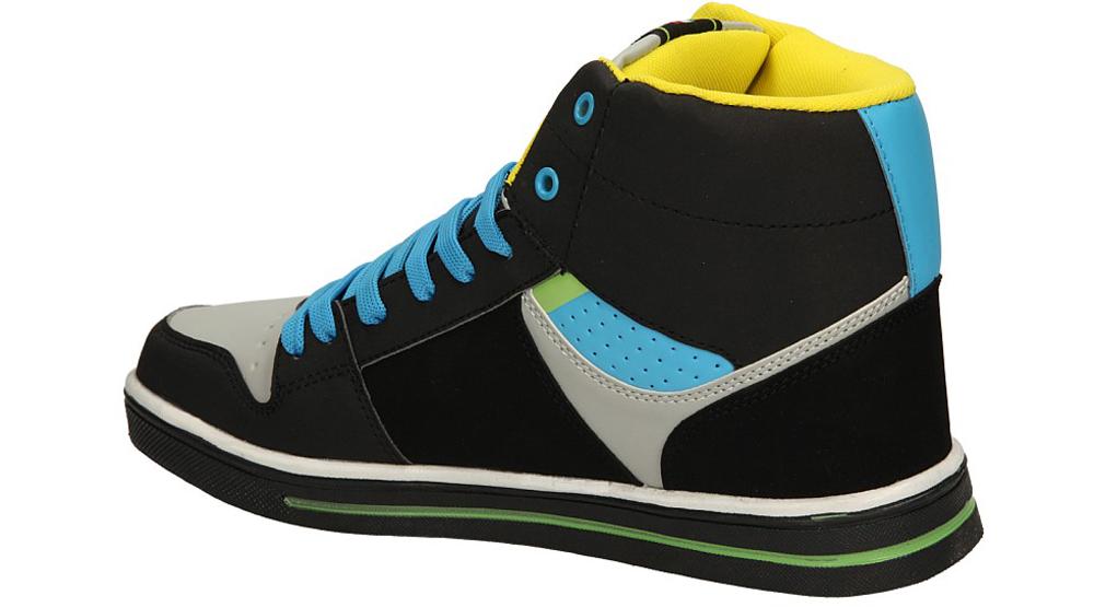 SPORTOWE CASU A697 kolor czarny, jasny niebieski