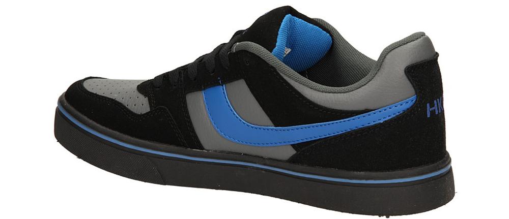 SPORTOWE CASU 9ACH-34167 kolor ciemny szary, czarny, niebieski