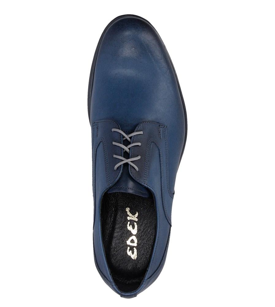 Męskie WIZYTOWE CASU 224/G niebieski;;