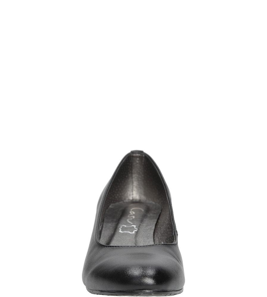 Półbuty Casu 138 kolor czarny