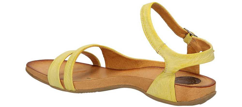SANDAŁY CARINII B2084 kolor żółty