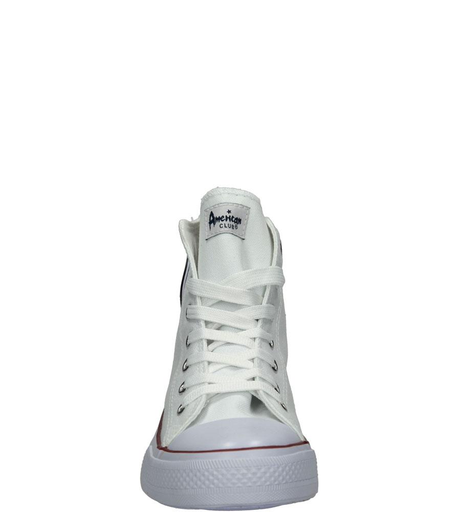 Męskie TRAMPKI AMERICAN LH-14-9120-4 biały;biały;