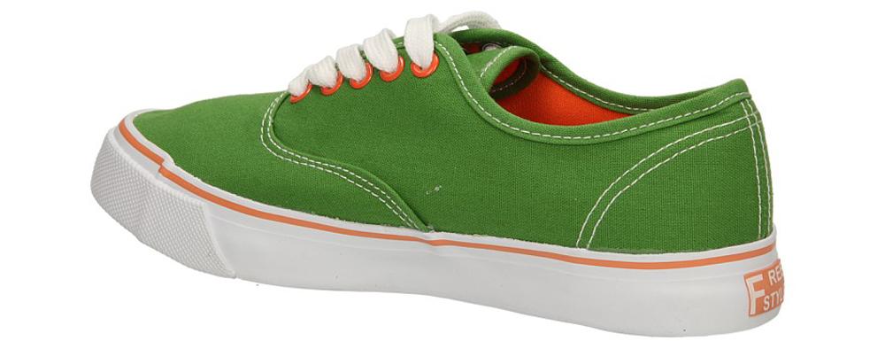 Damskie TRAMPKI CASU 410-10 zielony;pomarańczowy;