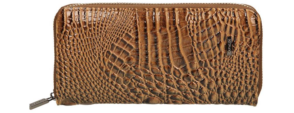 Damskie PORTFEL YU-03-33/8557-10 brązowy;beżowy;