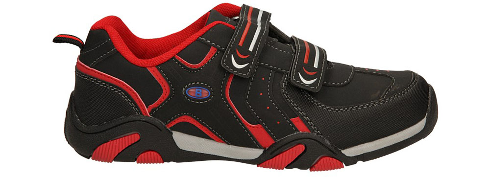 Dziecięce SPORTOWE 5XC6590 czarny;czerwony;