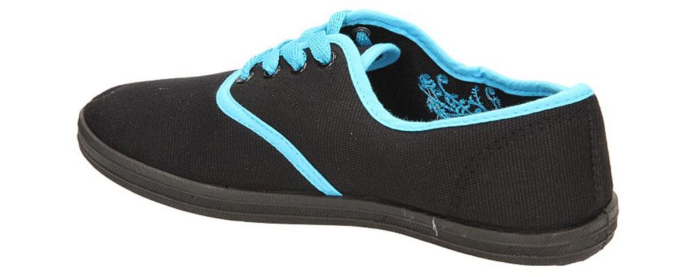 TENISÓWKI CASU 7SP-024-LS kolor czarny, niebieski