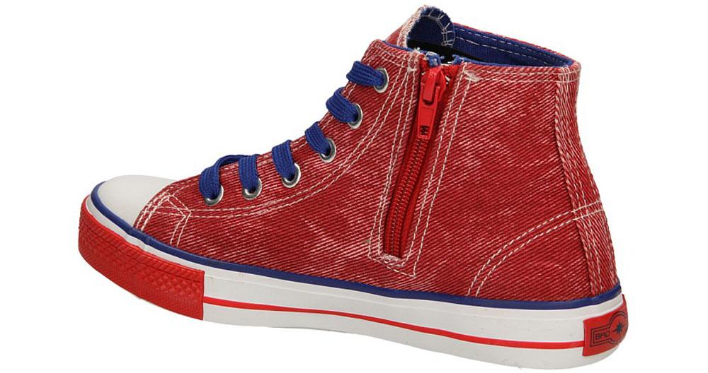 TRAMPKI 5XC6353-B kolor czerwony, niebieski