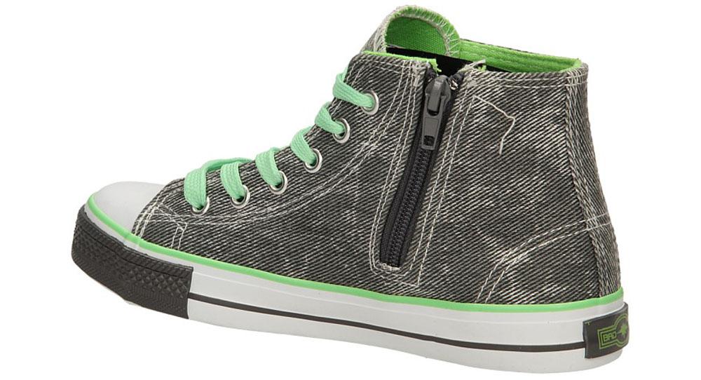 TRAMPKI 5XC6353-B kolor ciemny szary, zielony