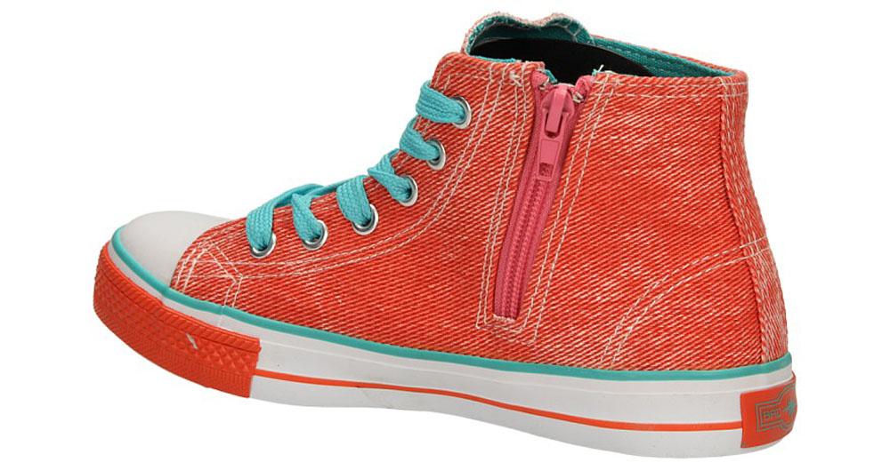 Dziecięce TRAMPKI 5XC6353-G różowy;zielony;