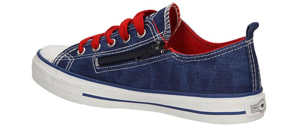 Dziecięce TRAMPKI 3XC6558-B niebieski;czerwony;