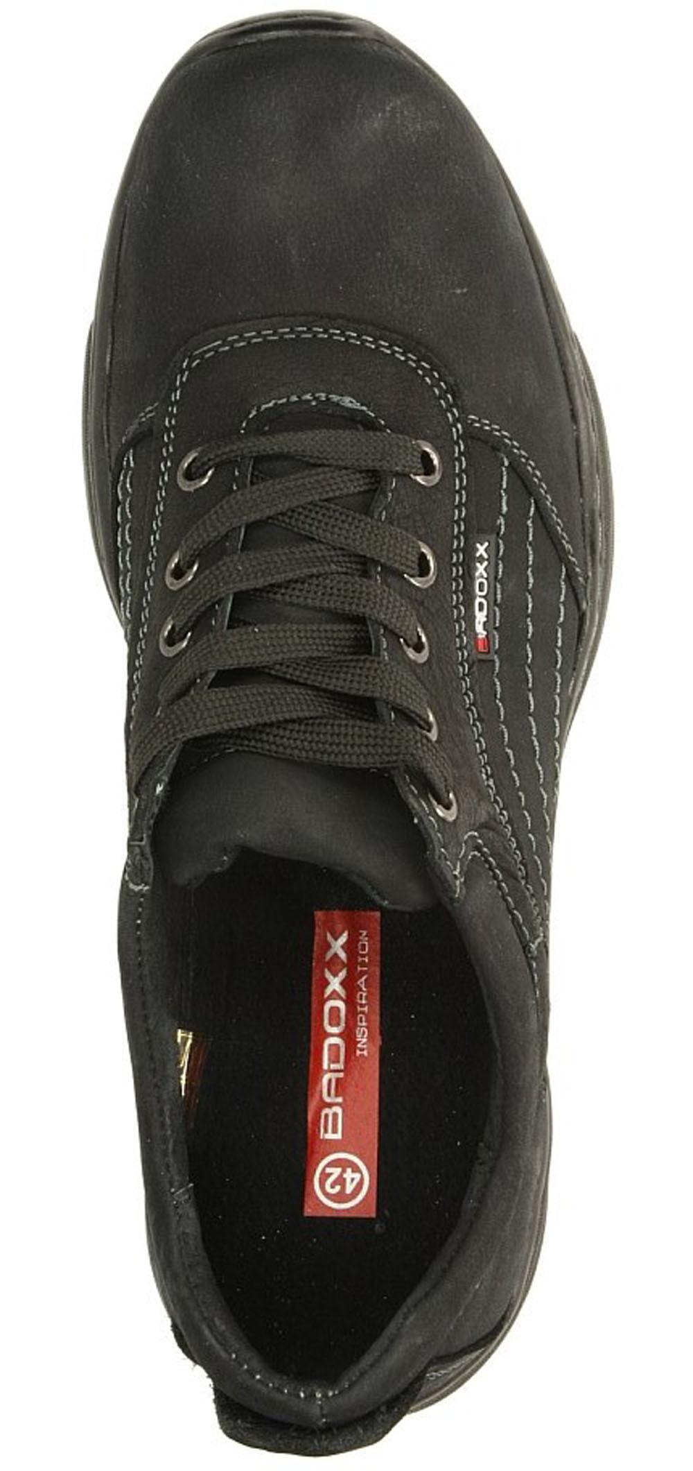 Czarne półbuty skórzane sznurowane Casu MXC6143-L wys_calkowita_buta 11 cm