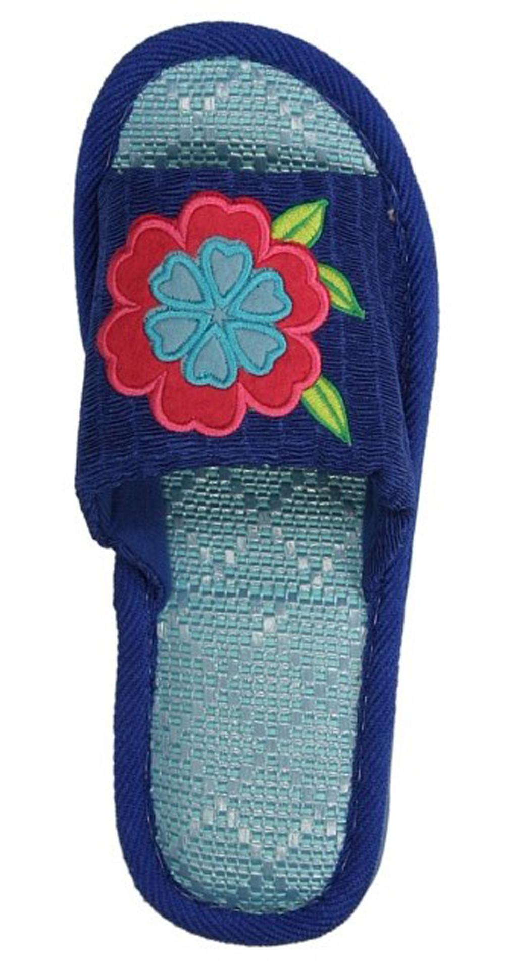 OBUWIE CASU DOMOWE1362 kolor niebieski