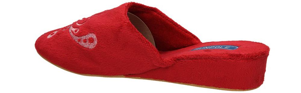 OBUWIE CASU DOMOWE S11-03 kolor czerwony