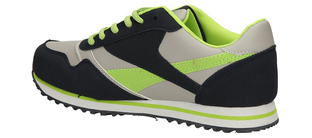 SPORTOWE CASU 7A-SA84578 kolor granatowy, jasny szary, zielony