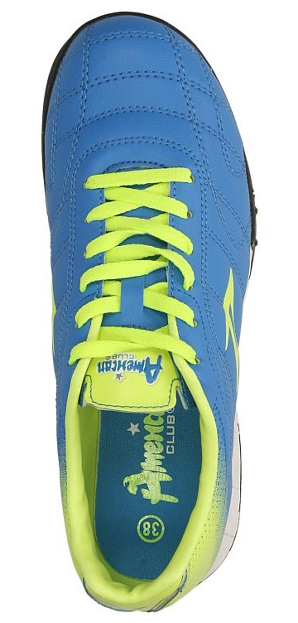 Damskie SPORTOWE AMERICAN OGLE-13049-B niebieski;żółty;