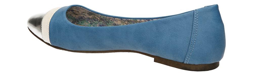 BALERINY S.BARSKI K1205 kolor ciemny niebieski
