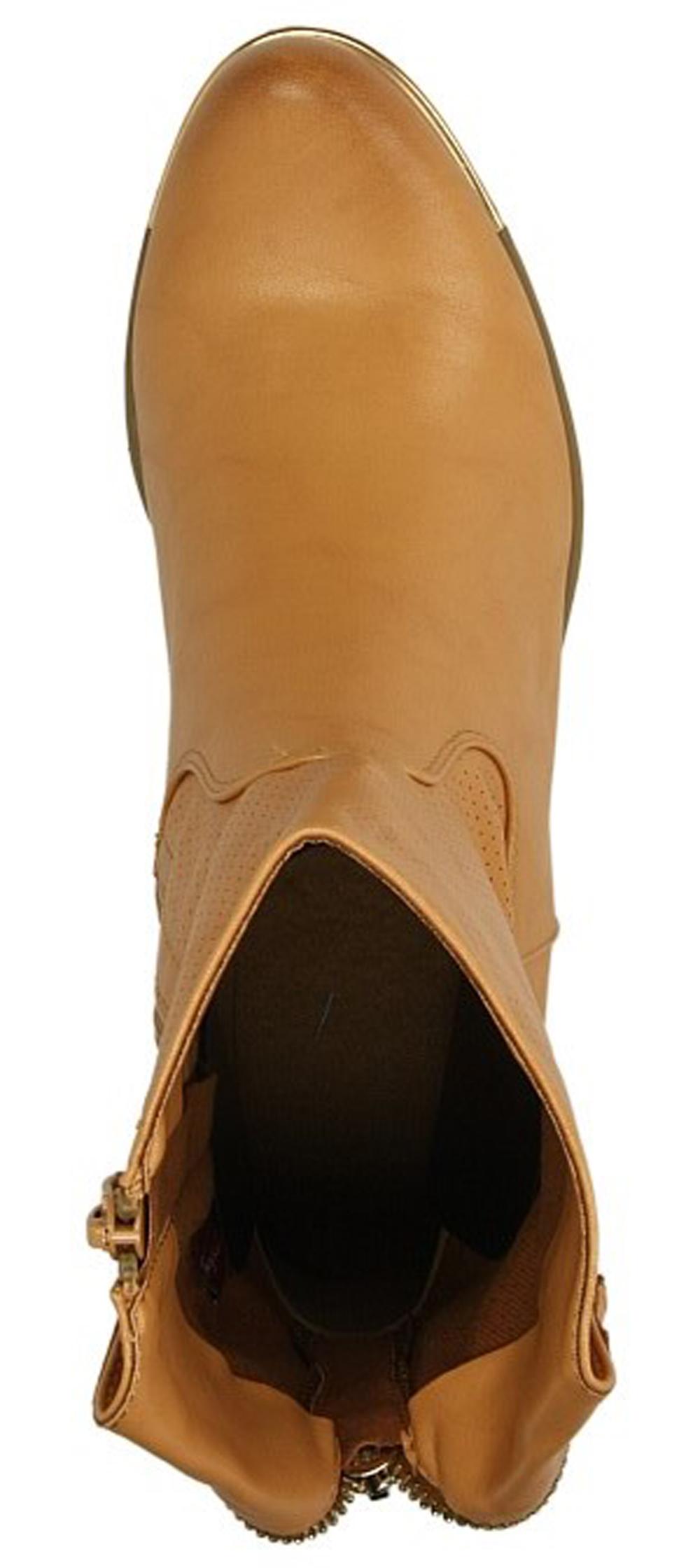 BOTKI SERGIO LEONE 5010 kolor camel