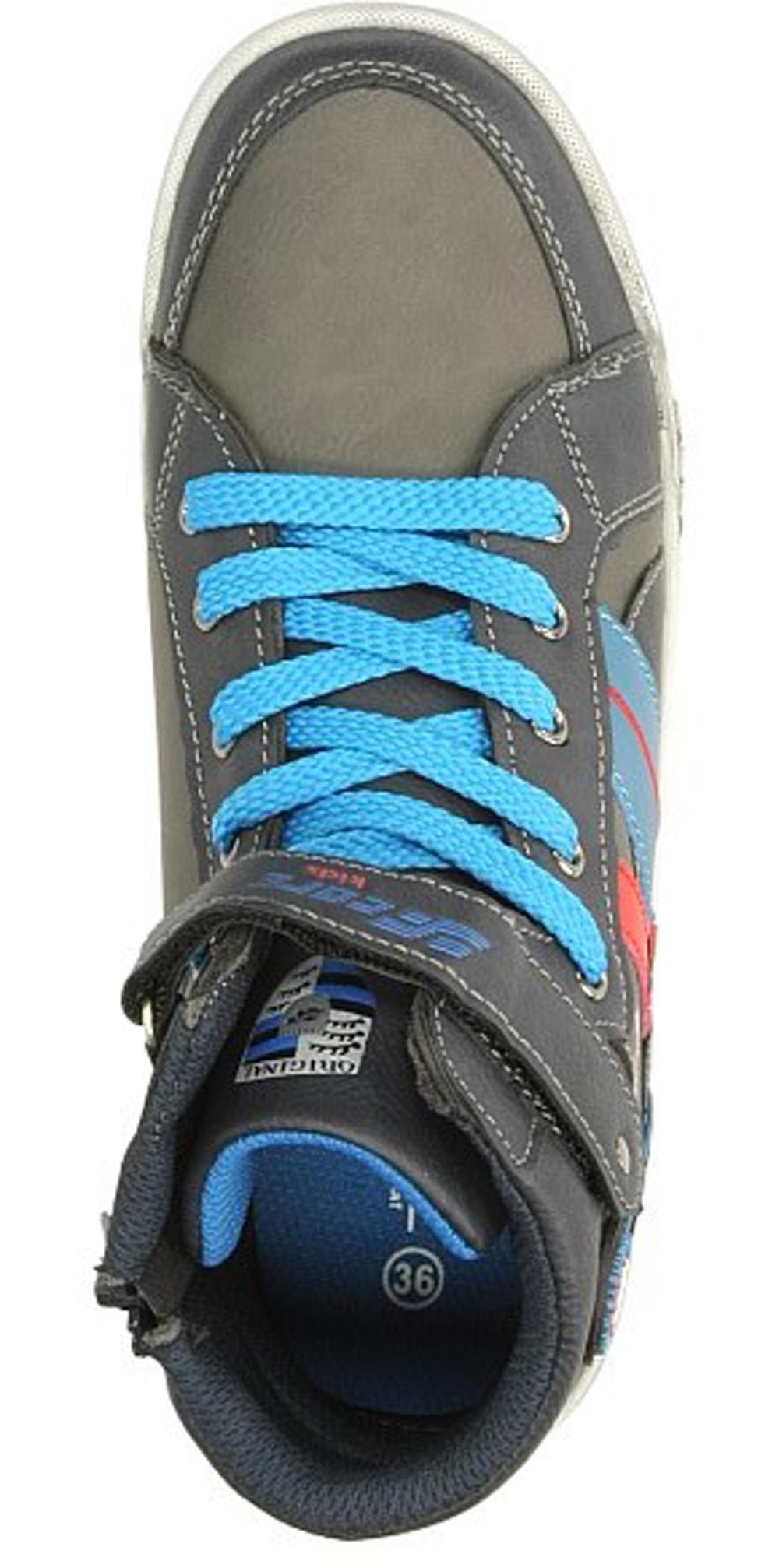 Dziecięce SPORTOWE 3XC6587 szary;niebieski;