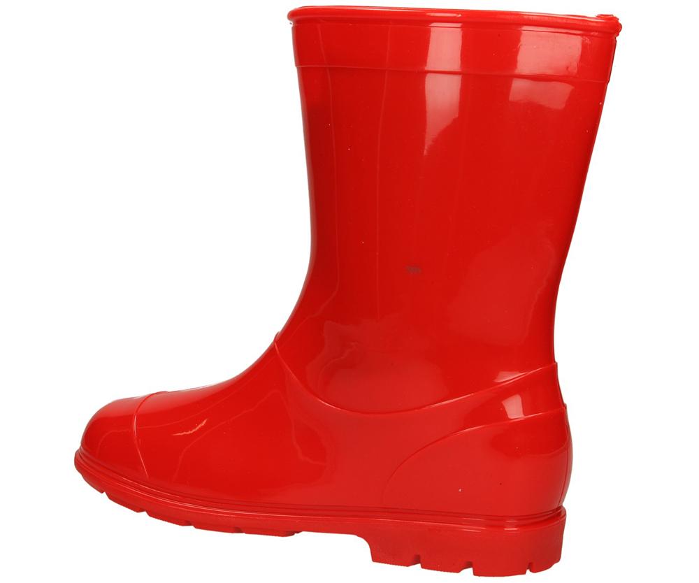 KALOSZE D303 kolor czerwony