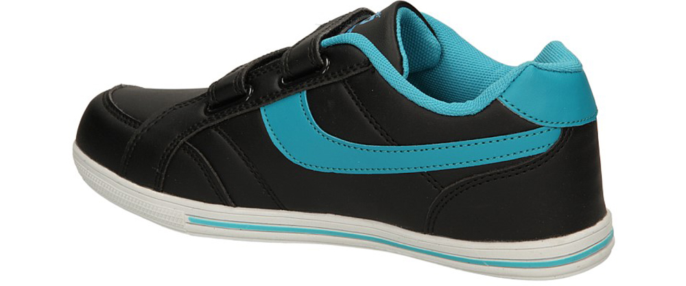 SPORTOWE FX0842B kolor czarny, jasny niebieski