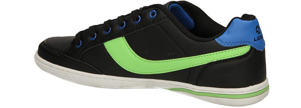 SPORTOWE CASU KML170-5 kolor czarny, jasny zielony, niebieski