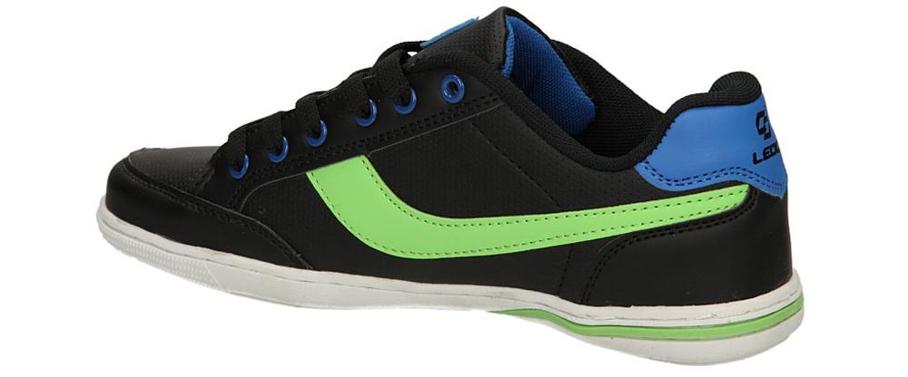 SPORTOWE CASU KMT170-3 kolor czarny, jasny zielony, niebieski