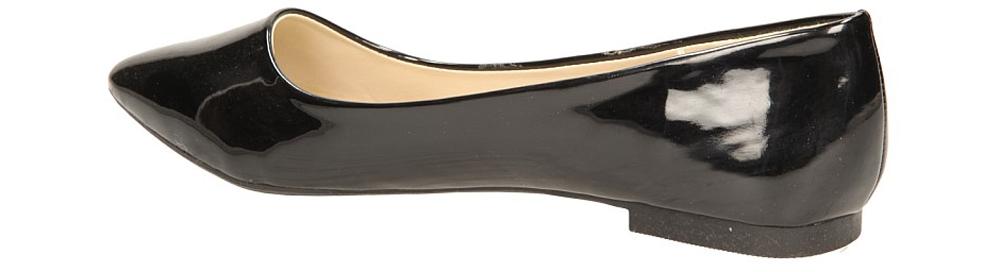 BALERINY CASU Y9842 kolor czarny