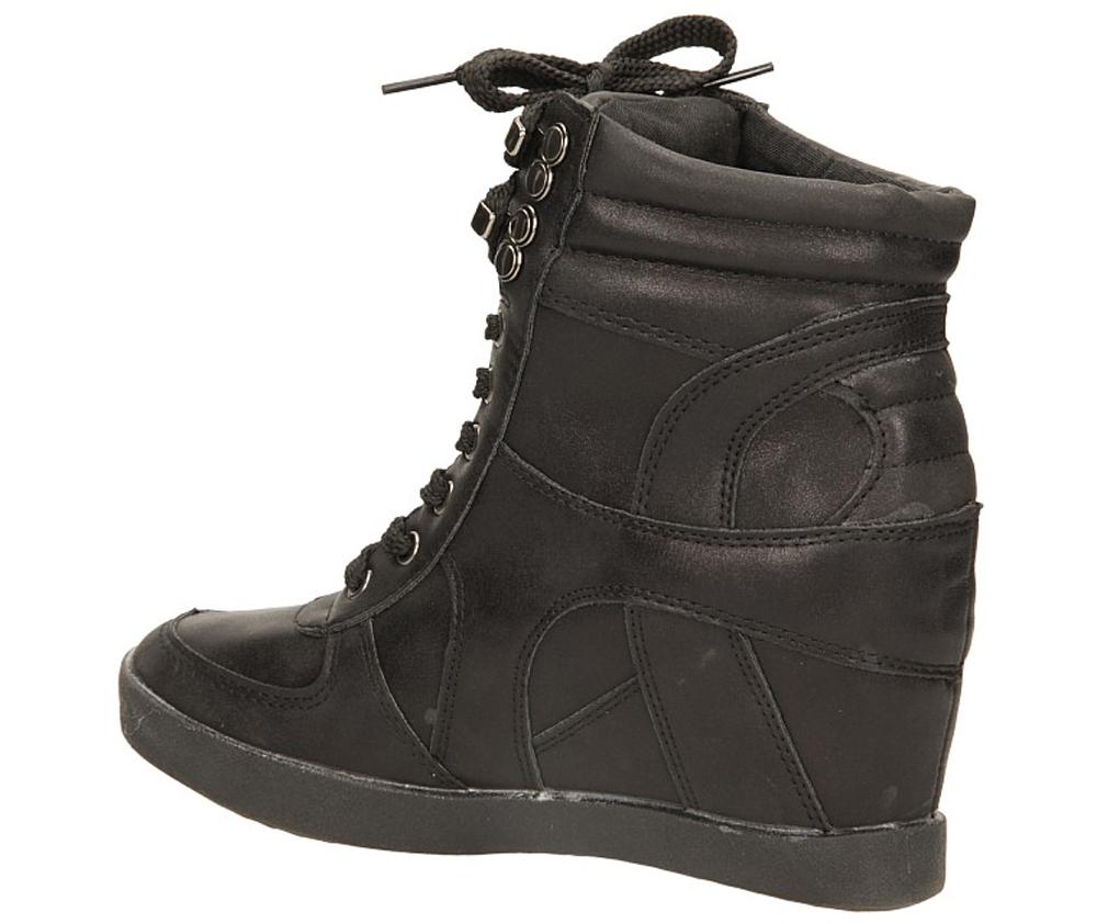 SNEAKERSY CASU L-8579-1 kolor czarny