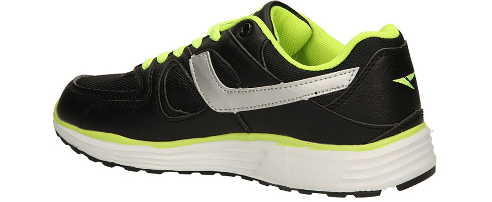 SPORTOWE CASU 7A-HG14143 kolor czarny, jasny zielony