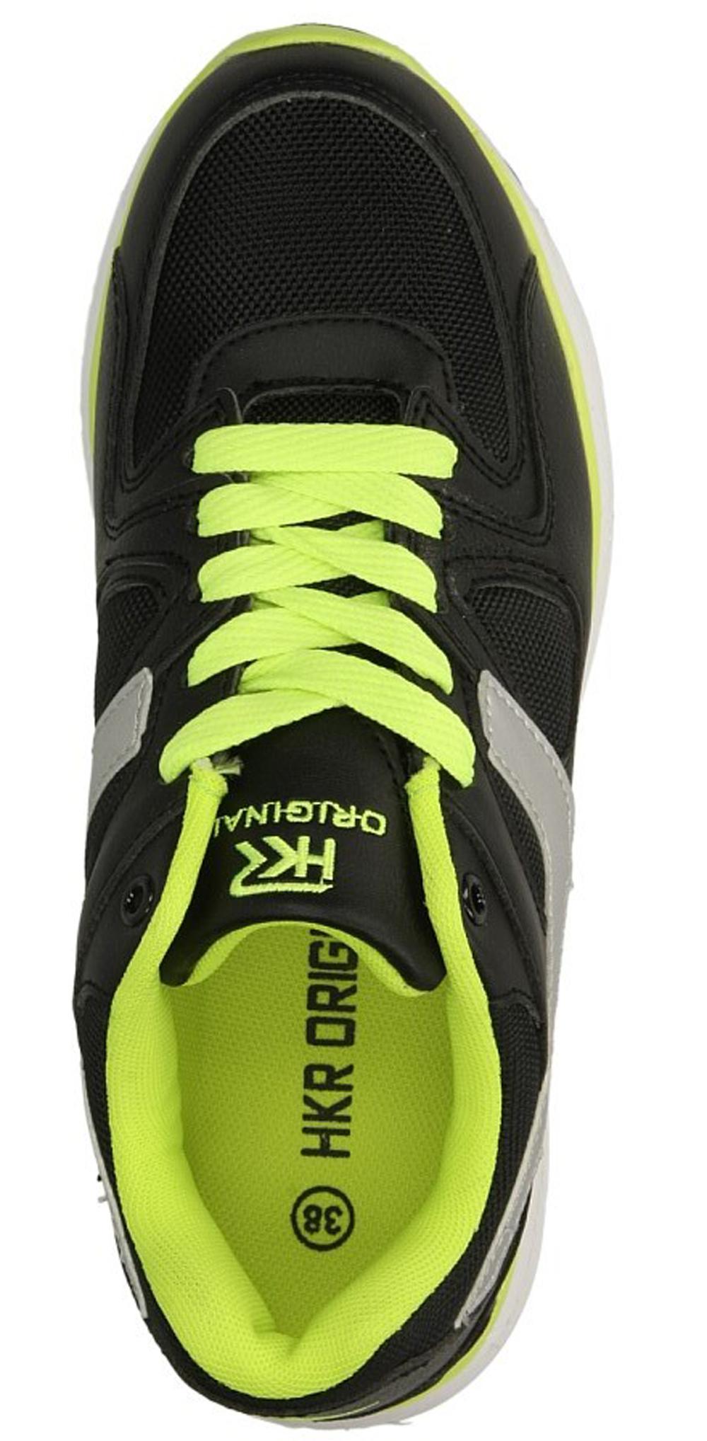 Damskie SPORTOWE CASU 7A-HG14143 czarny;zielony;