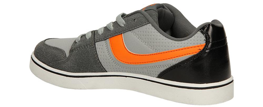 SPORTOWE CASU 7ACH-141137 kolor jasny szary, pomarańczowy, szary