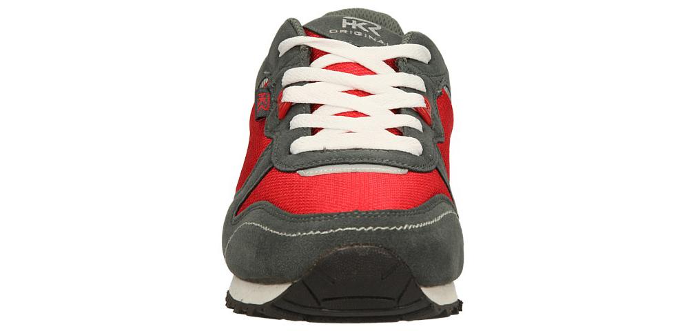 Męskie SPORTOWE CASU 9A-AN84438 szary;czerwony;biały