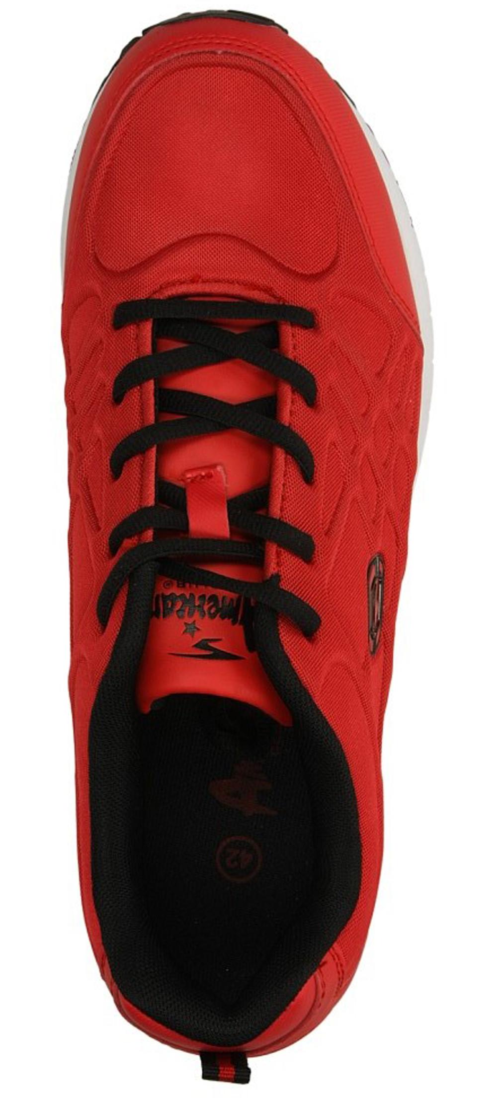 Męskie SPORTOWE AMERICAN WM-55765 czerwony;;