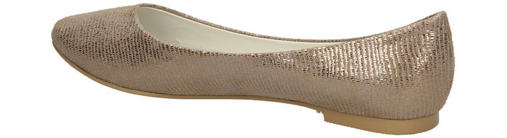 BALERINY VINCEZA R14-D-P-177 kolor srebrny