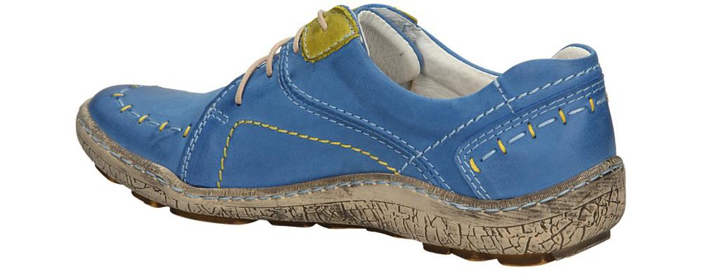 PÓŁBUTY KACPER 2-3985 kolor niebieski, żółty