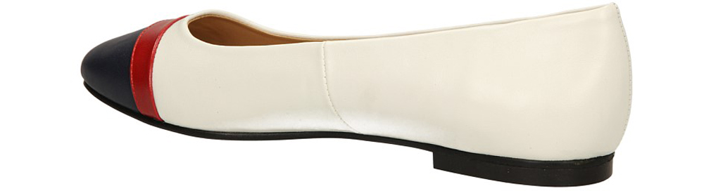 BALERINY JEZZI AM30-5 kolor biały