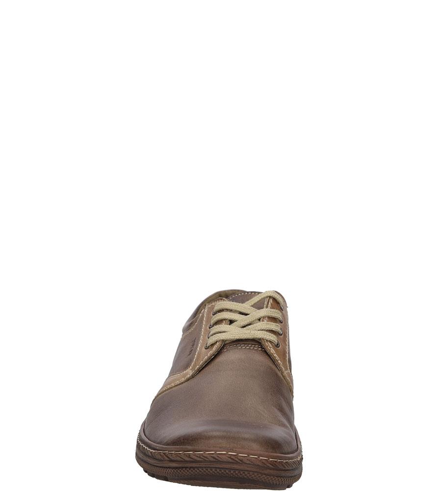 Męskie PÓŁBUTY JOKER 269 brązowy;;