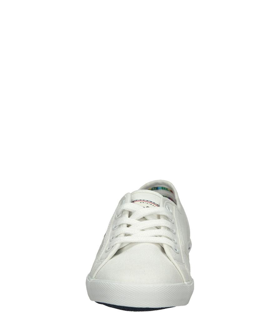 TRAMPKI PEPE JEANS PLS30001 kolor biały