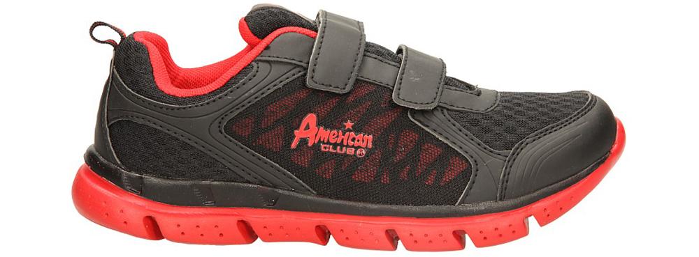 Dziecięce SPORTOWE AMERICAN UP13HH001 czarny;czerwony;