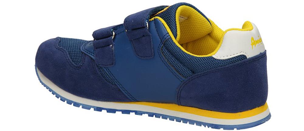 SPORTOWE AMERICAN E111127 kolor niebieski, żółty
