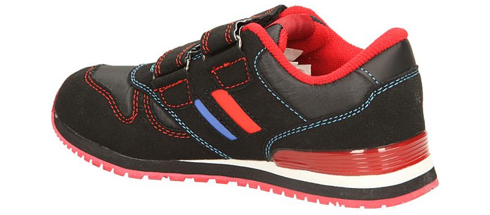 Dziecięce SPORTOWE AMERICAN K1326 czarny;czerwony;