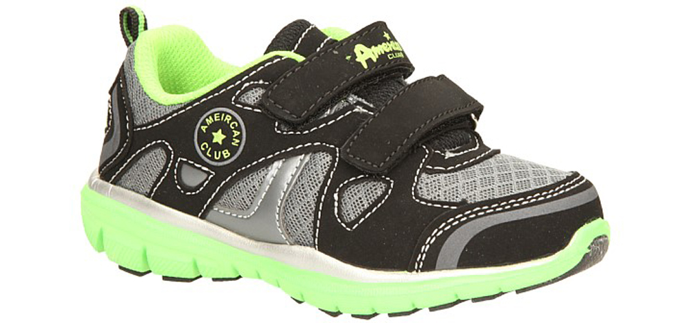 Dziecięce SPORTOWE AMERICAN K1317 czarny;zielony;