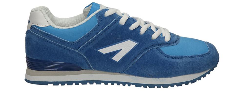 Dziecięce SPORTOWE AMERICAN 33100 niebieski;biały;