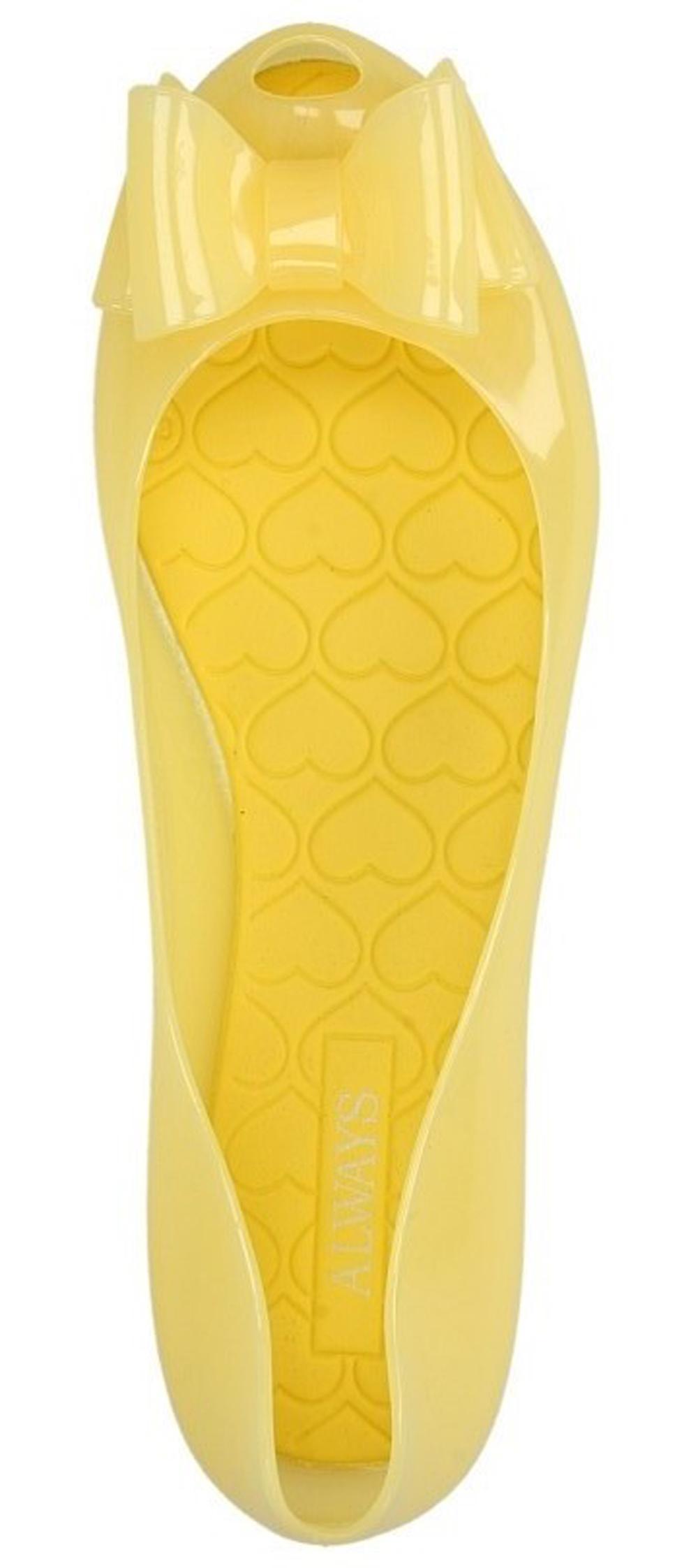 Damskie MELISKI CASU 6747 żółty;;