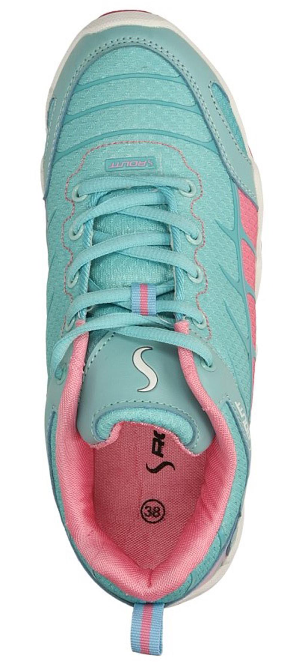 Damskie SPORTOWE CASU 713555 niebieski;różowy;
