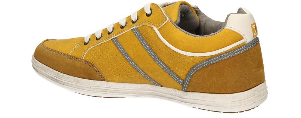 PÓŁBUTY MCKEY R14-M-SP-138 kolor żółty