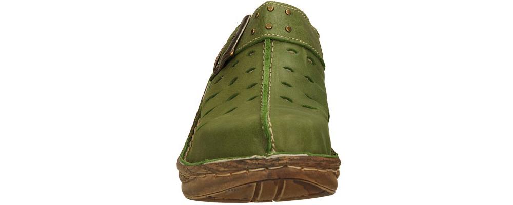 Damskie KLAPKI ŁUKBUT 0652P-3-L-037 zielony;;